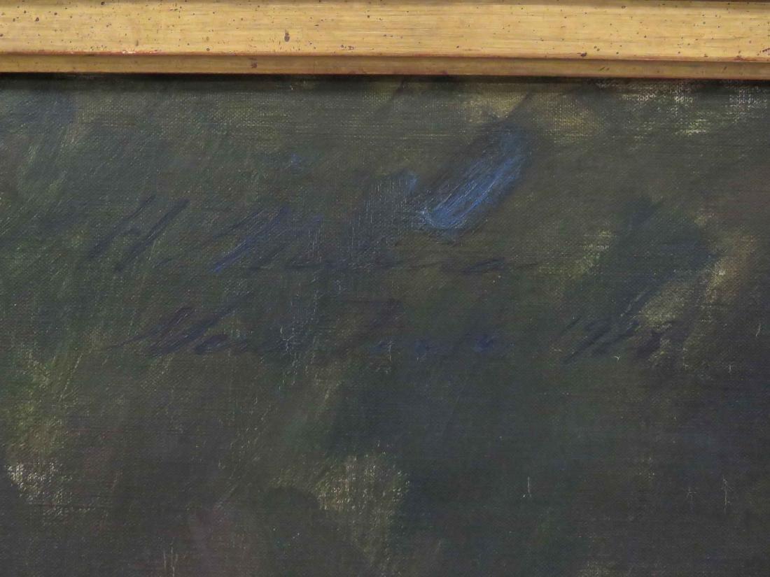 AMERICAN SCHOOL (20TH CENTURY), OIL ON CANVAS, PORTRAIT - 5