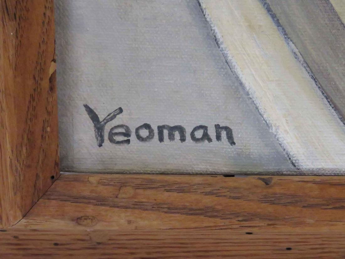 BROOKS YEOMAN (AMERICAN 20TH CENTURY), OIL ON CANVAS, - 2