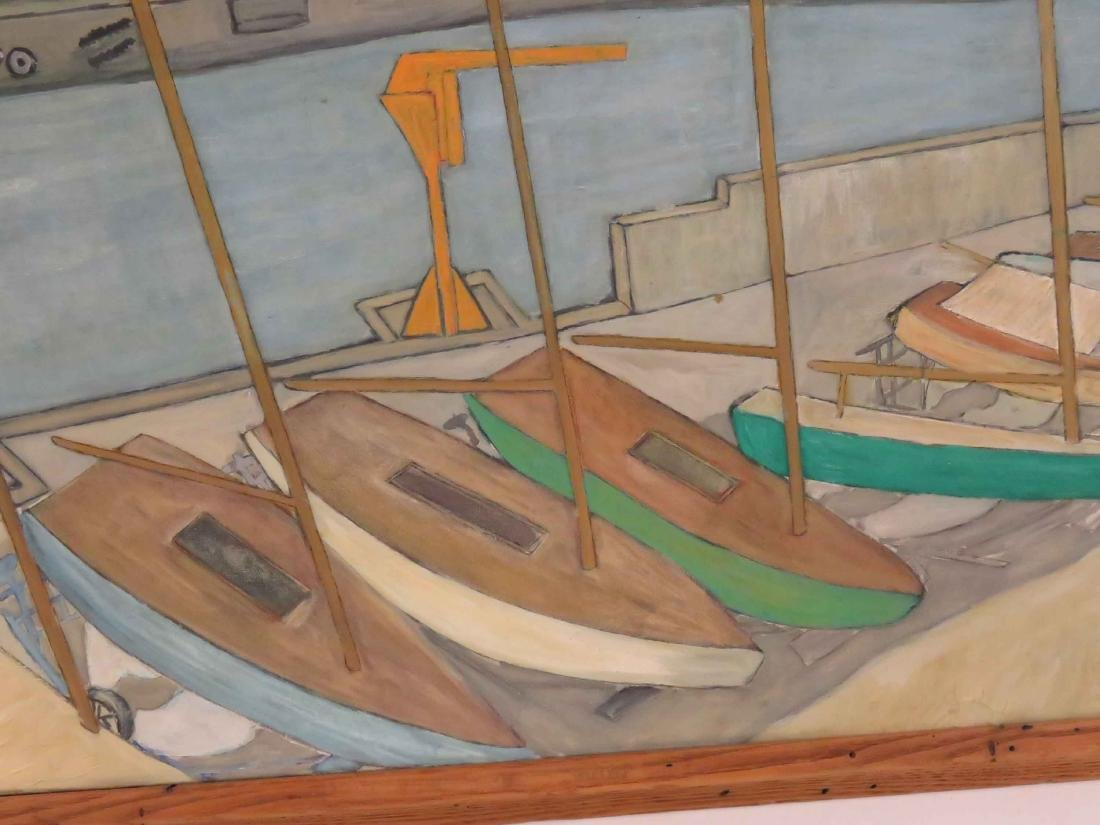 BROOKS YEOMAN (AMERICAN 20TH CENTURY), OIL ON CANVAS, - 3