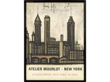 BERNARD BUFFET (FRENCH-), LITHOGRAPHIC EXHIBITION