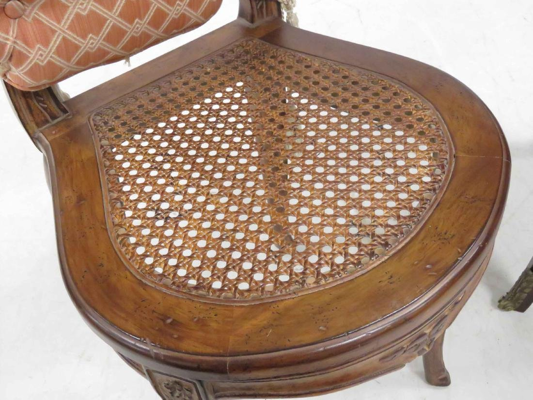 LOT (2) INCLUDING FRENCH LOUIS XVI STYLE MARQUETRY - 2