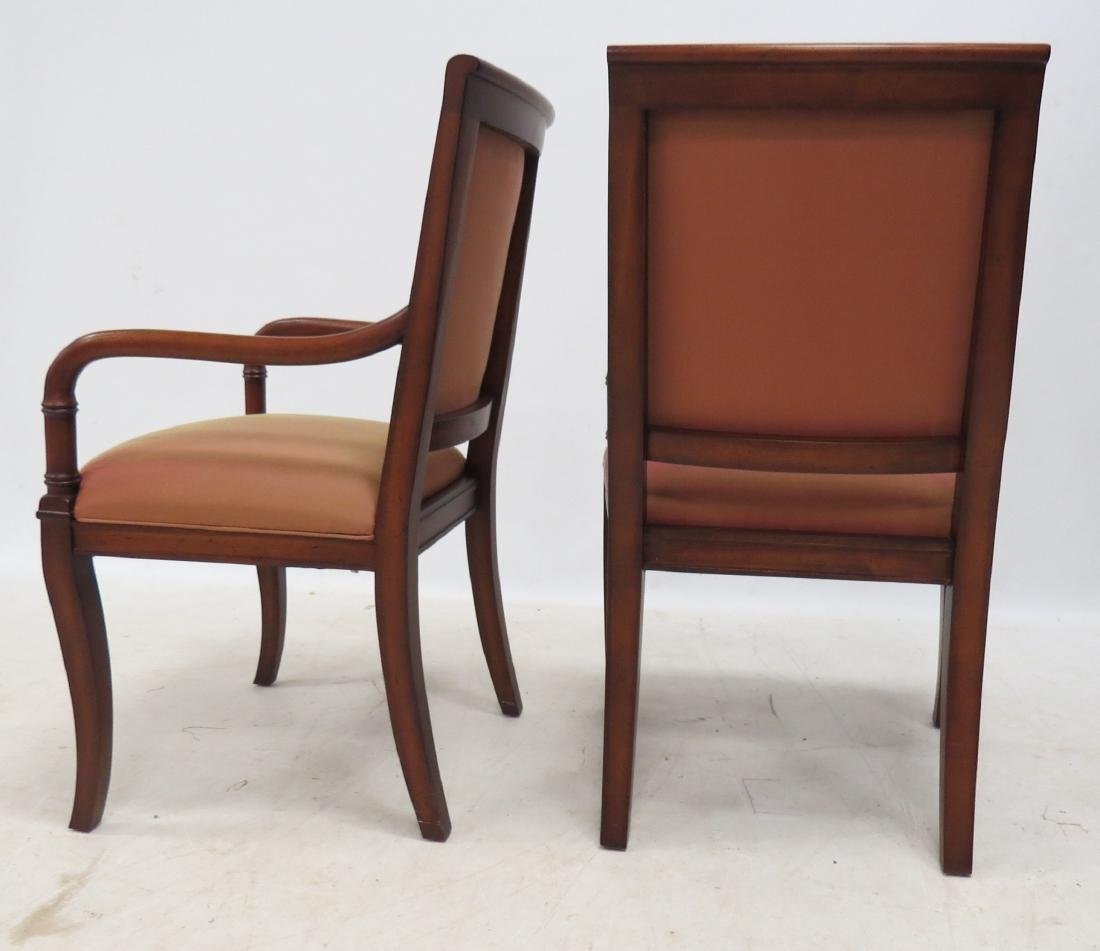 COUNCILL FURNITURE PAIR FRENCH EMPIRE STYLE FRUITWOOD - 2
