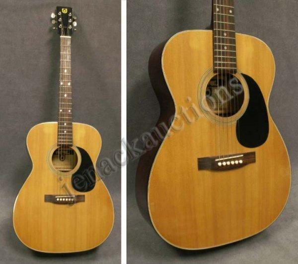 vintage univox model v 3022 acoustic guitar