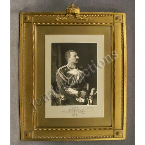2346: AUTOGRAPHED PHOTO, S.M. KAISER WILHELM II 1902