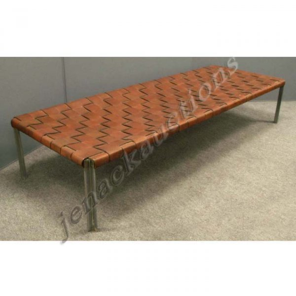 1323: CUSTOM MADE ESTELLE AND IRWIN LAVERNE BENCH