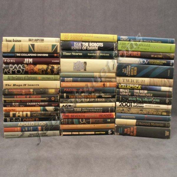 2003: BOX LOT (46) VINTAGE SCIENCE FICTION BOOKS