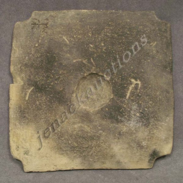 3: TUMACO/LA TOLITA POTTERY TILE, C.300 BC-300 AD