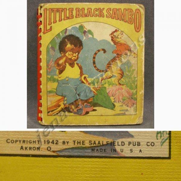 1021: VOLUME, LITTLE BLACK SAMBO, SAALFIELD PUBLISHING