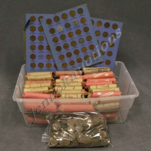 14: LOT ASSORTED FOREIGN COINS/CURRENCY