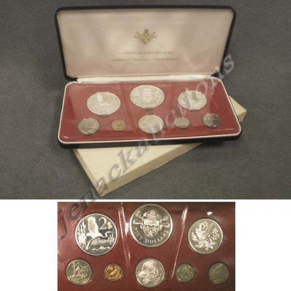 22: 1972 CAYMAN ISLAND EIGHT COIN PROOF SET