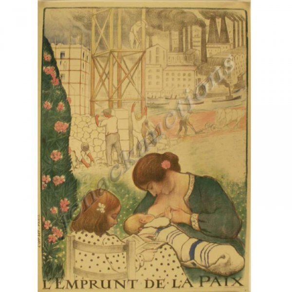 2011: VINTAGE FRENCH LITHOGRAPHIC POSTER, LEBASQUE
