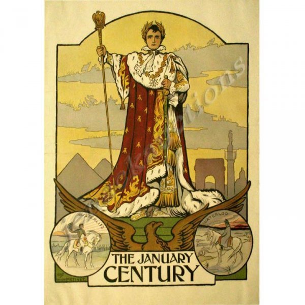 2025: LUCIEN METIVET LITHOGRAPH/POSTER, THE CENTURY