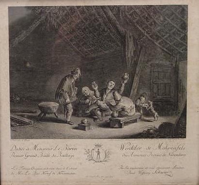 4: ENGRAVING, P.W. SCHWARZ, 1701