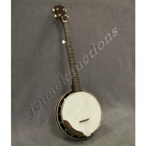 1003: 5-STRING BANJO WITH RESONATOR AND SOFT CASE