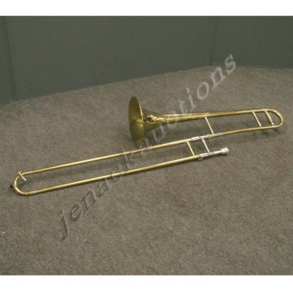 1021: OXFORD BRASS TROMBONE WITH CASE