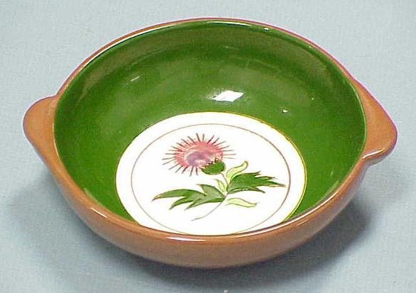 """1: (12) STANGL """"THISTLE"""" SOUP BOWLS"""