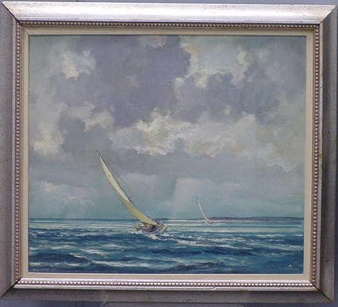 244: OIL ARTIST BOARD, ERIC SLOANE