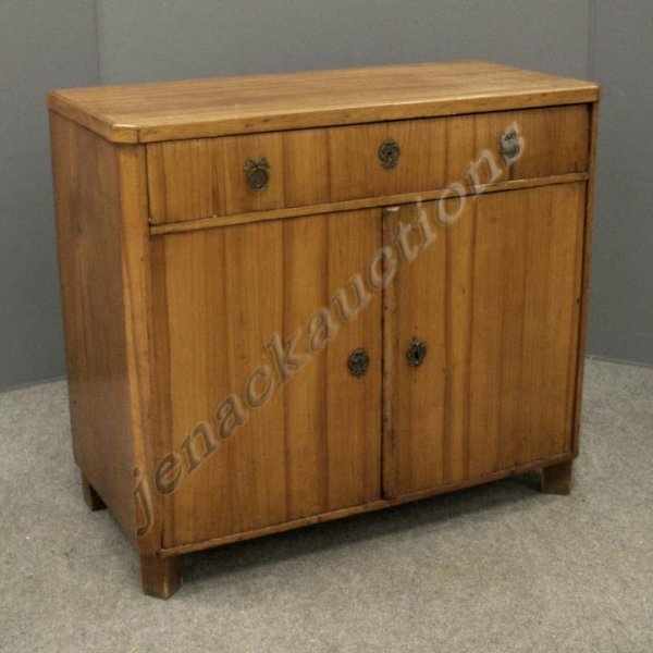 23: CONTINENTAL FRUIT WOOD SINGLE-DRAWER CABINET