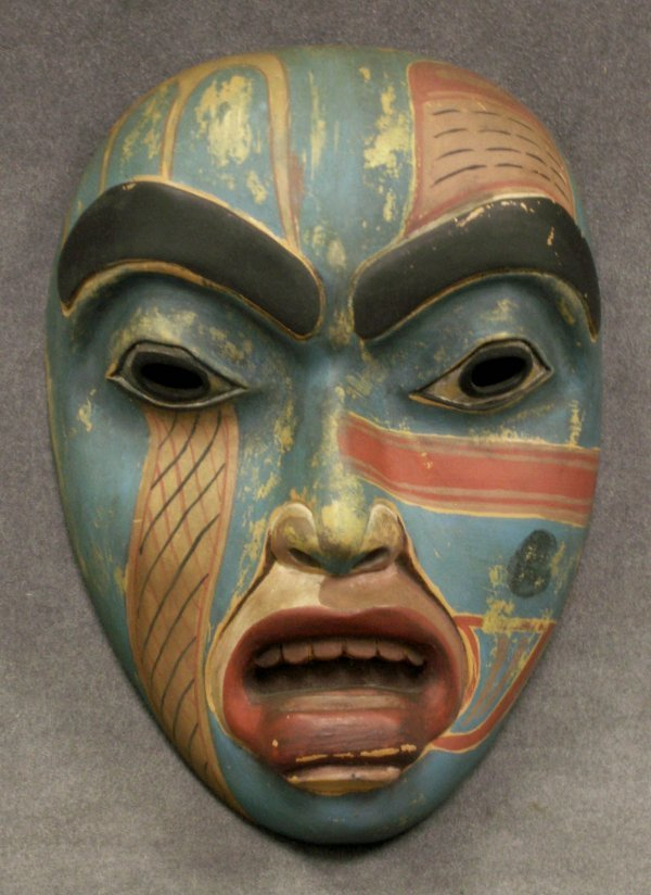 2011: NORTHWEST COAST  CARVED AND PAINTED MASK