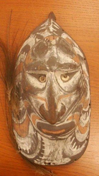 2018A: OCEANIC CARVED WOOD MASK
