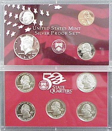 1002: 1999S SILVER PROOF SET