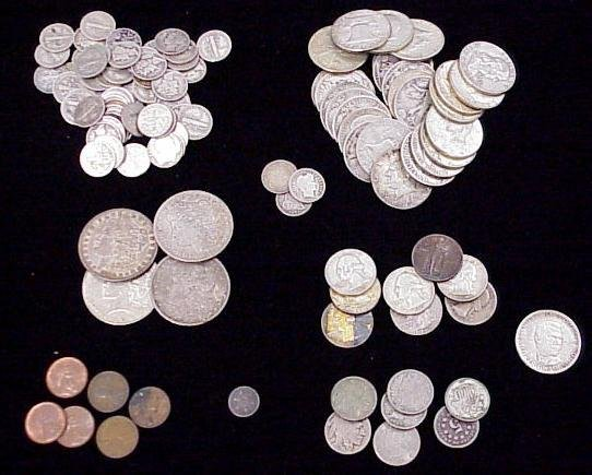 1007: LOT (117) ASSORTED U.S. COINS