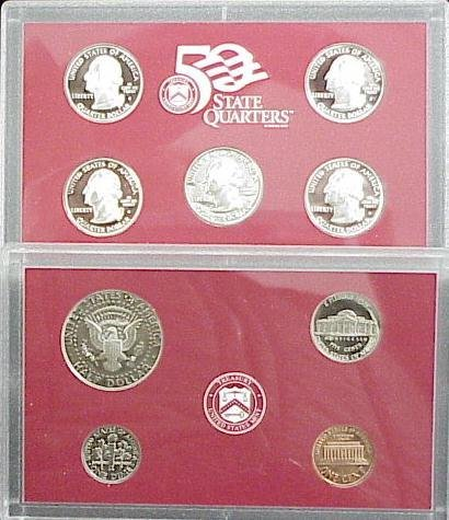 1021: 1999S SILVER PROOF SET