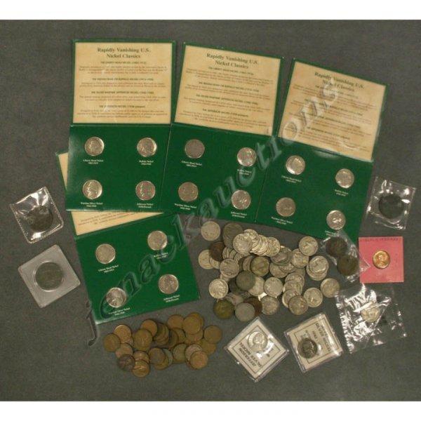 10: LOT (105) ASSORTED U.S. COINS INCLUDING 1812, 1851