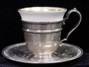 (12) INT'L STERLING DEMITASSE CUPS