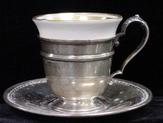 2: (12) INT'L STERLING DEMITASSE CUPS