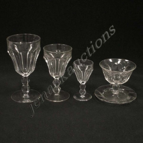 20: LOT (33) HEISEY STEMWARE, SIGNED
