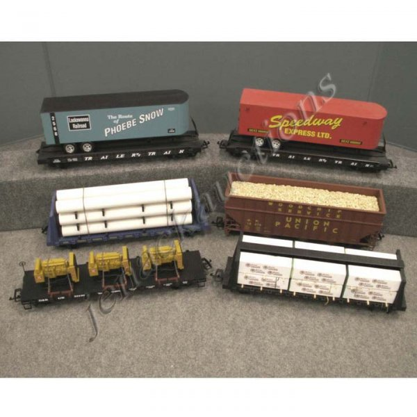 1: LOT (6) CHARLES RO G-SCALE CARS