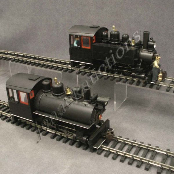 7: (2) BACHMANN SPECTRUM 0-4-0 G-SCALE PORTER ENGINE