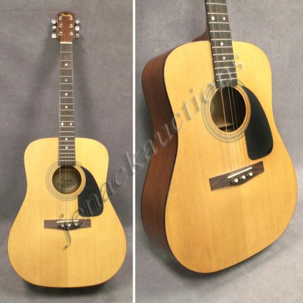 14: FENDER DG-6 STEEL STRING ACOUSTIC GUITAR