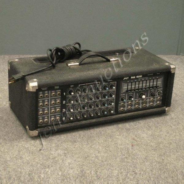 21: VINTAGE PEAVEY KB400 (800W) PA HEAD