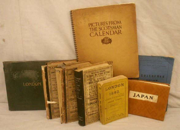 1: LOT (8) VINTAGE CATALOGUES AND DIRECTORIES