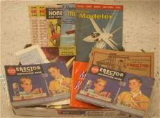 371 LOT INCLUDING VINTAGE MODEL AIRPLANESROCKETS