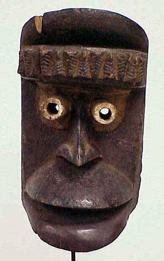 12: FINE GUERE-OUOBE CARVED/PAINTED MASK