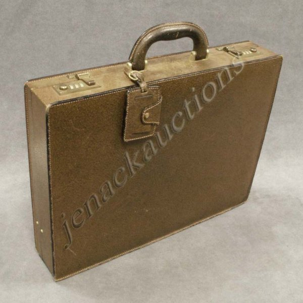 1: GUCCI LEATHER ATTACHE CASE