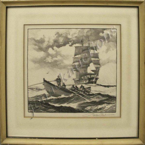 8: GORDON GRANT NA (NEW YORK 1875-1962), LITHOGRAPH