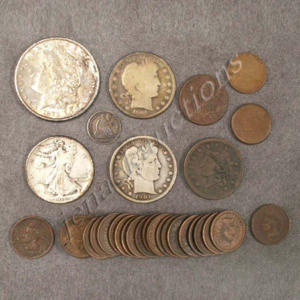 2: LOT (22) ASSORTED UNITED STATES COINS