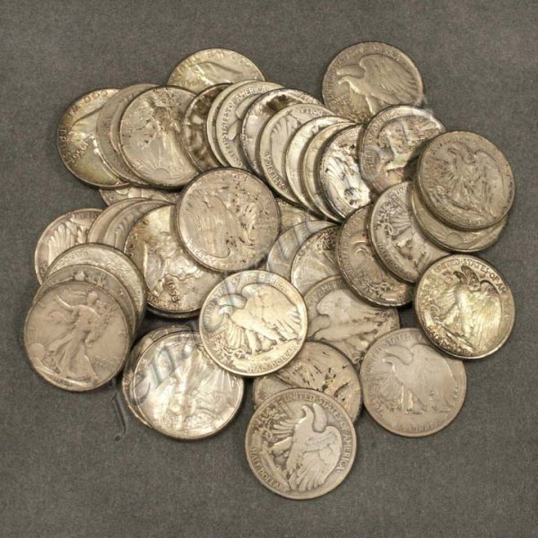 6: LOT (38) UNITED STATES SILVER DOLLAR COINS