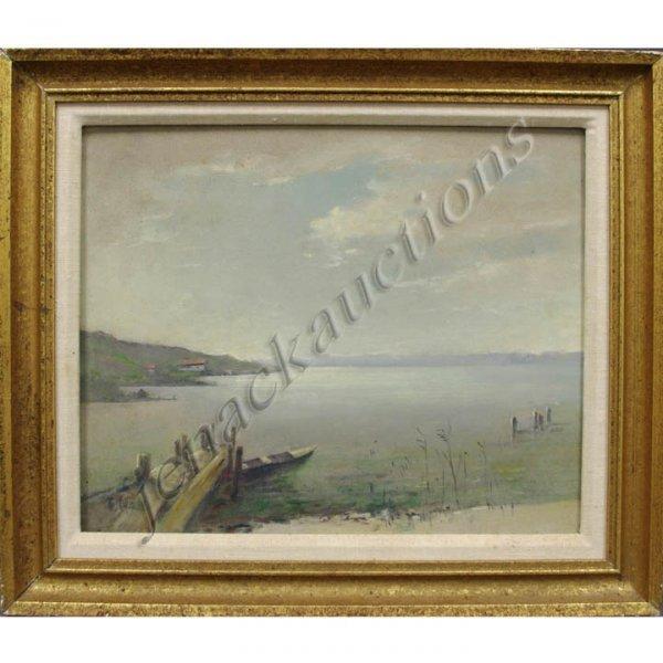 20: FRITZ HASS (GERMAN 1898-), OIL ON MASONITE