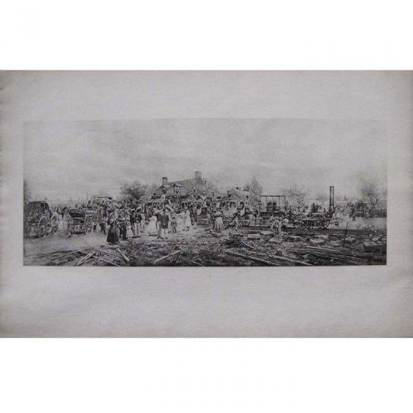 7: EDWARD LAMSON HENRY (AMERICAN 1841-1919)