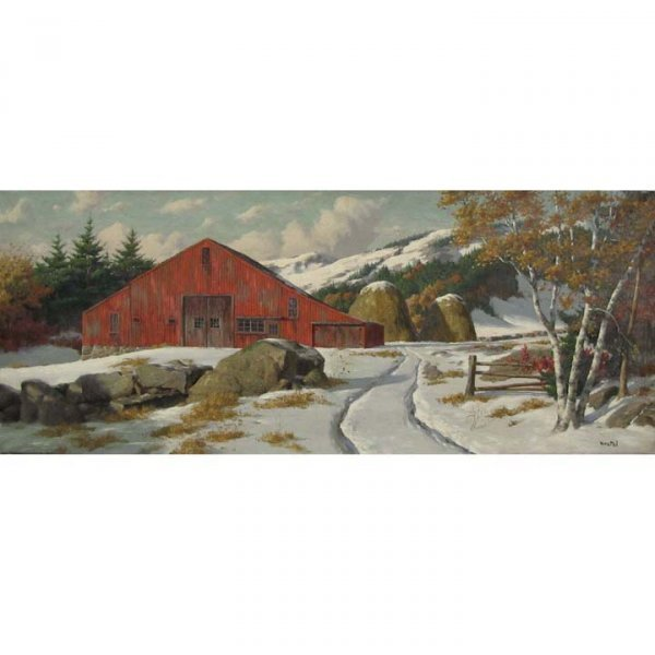 231: WESTAL (WALTER E. BRIGHTWELL, AMERICAN 1919-2005)