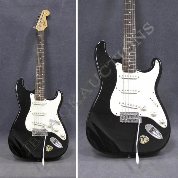 18: FENDER SQUIRE SOLID BODY GUITAR, #NC-723841