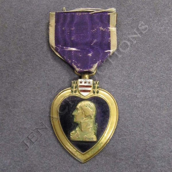 162: U.S. WWI ERA NAMED PURPLE HEART MEDAL