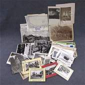 384 LOT ASSORTED GERMAN WWII PHOTOGRAPHS PHOTOCARDS