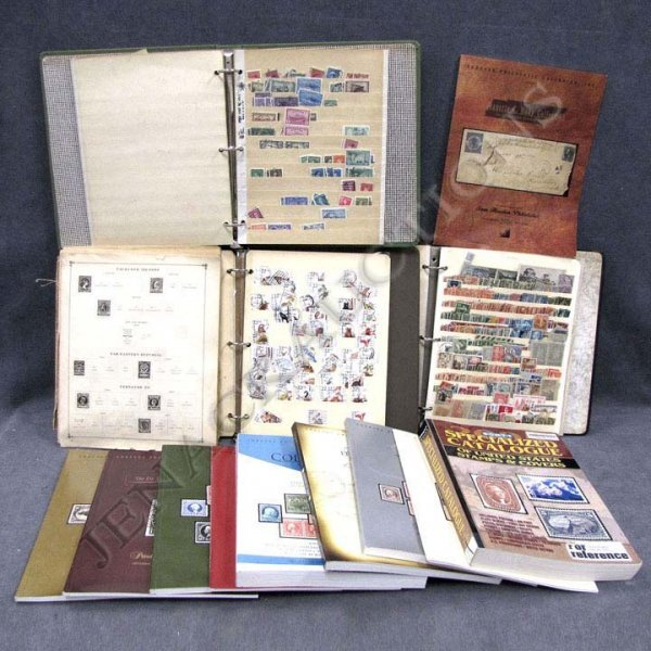 15: ASSORTED BOX LOT STAMPS