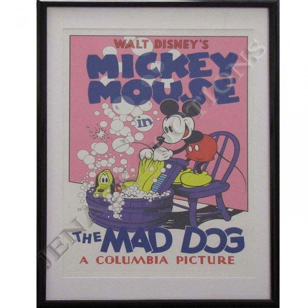 "23: WALT DISNEY'S MICKEY MOUSE ""THE MAD DOG"" (1932)"